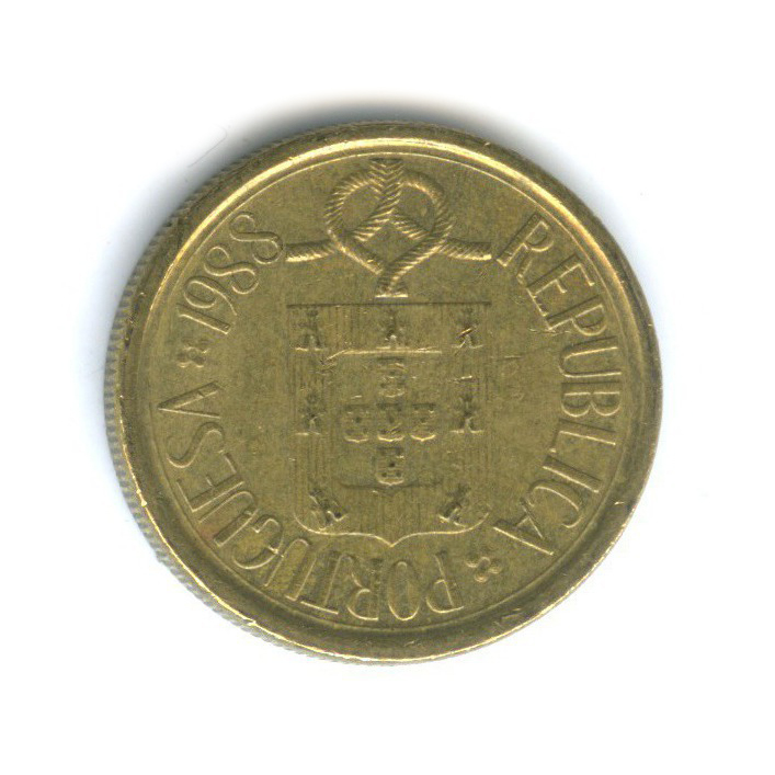 5 эскудо 1988 года (Португалия)