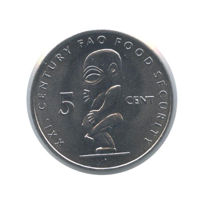 5 центов - ФАО, Острова Кука (вхолдере) 2000 года