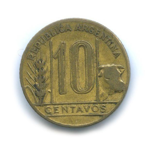 10 сентаво 1945 года (Аргентина)