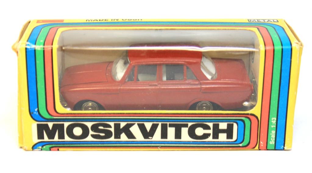 Модель автомобиля «Москвич» 1:43 (март 1984 г., «Made inUSSR», оригинал) (СССР)