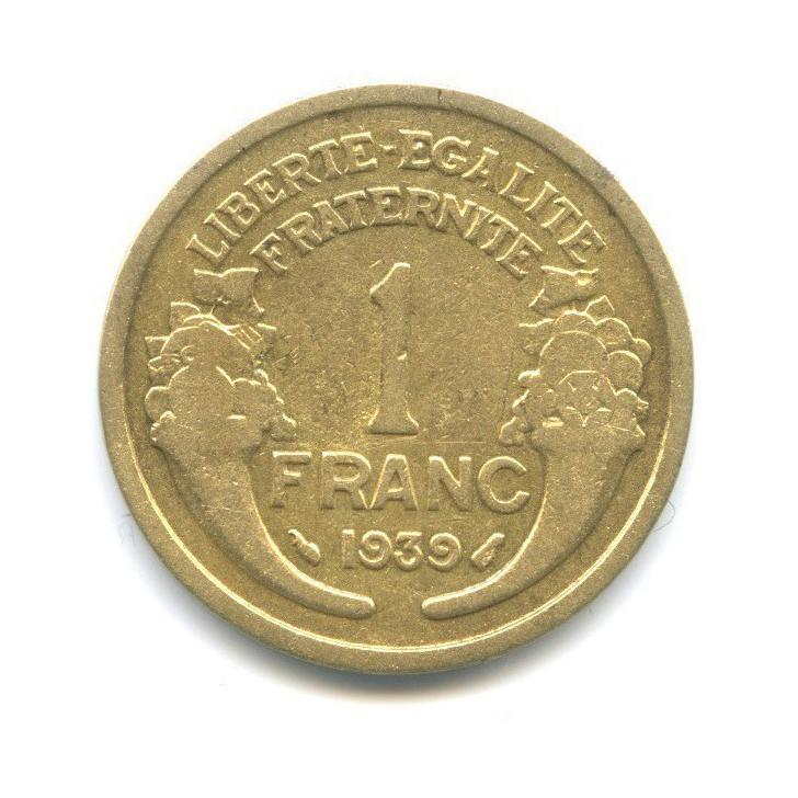 1 франк 1939 года (Франция)