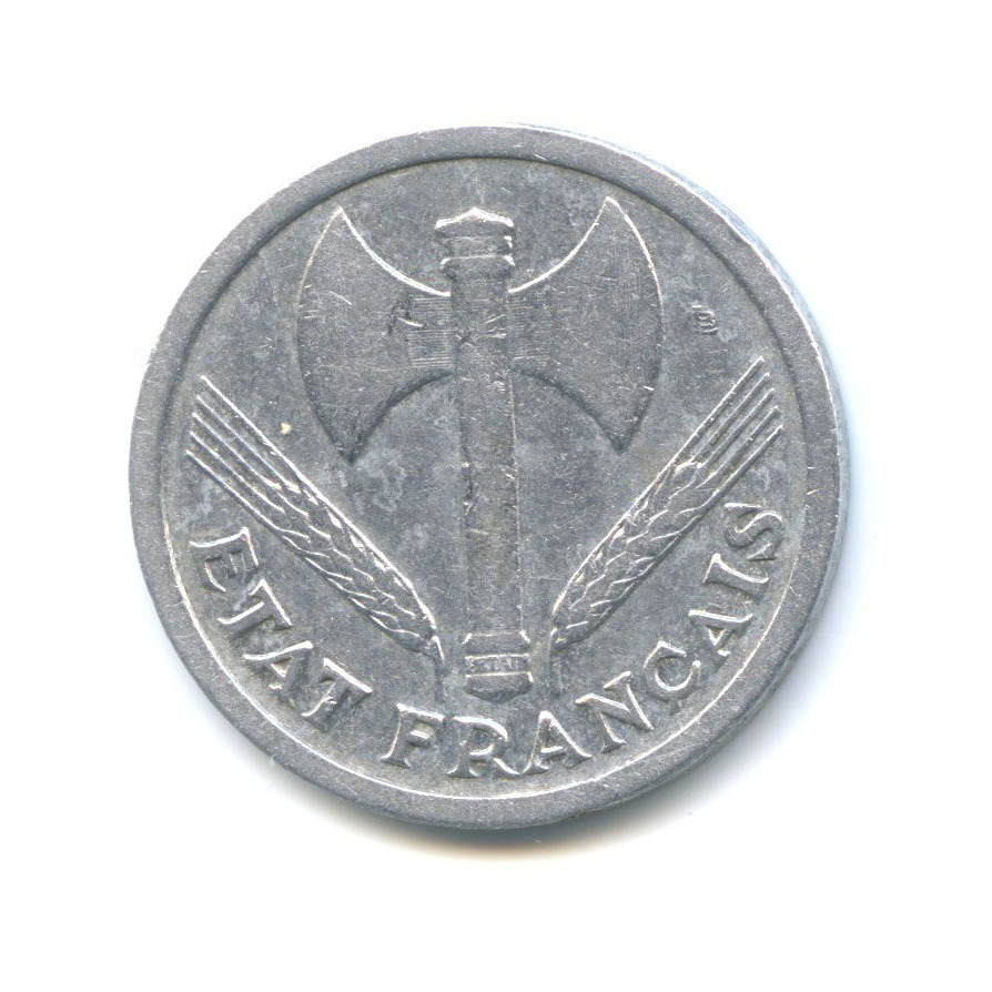 2 франка 1943 года (Франция)