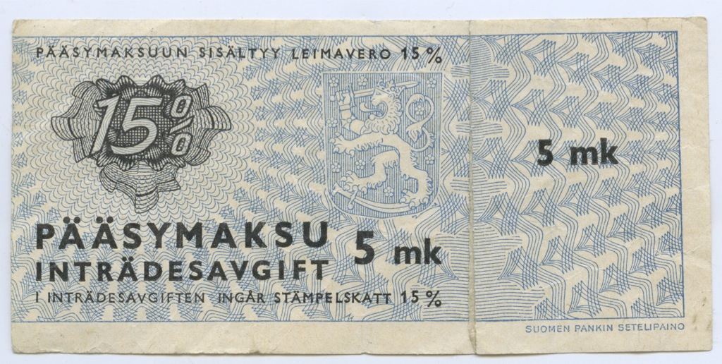5 марок (Финляндия)