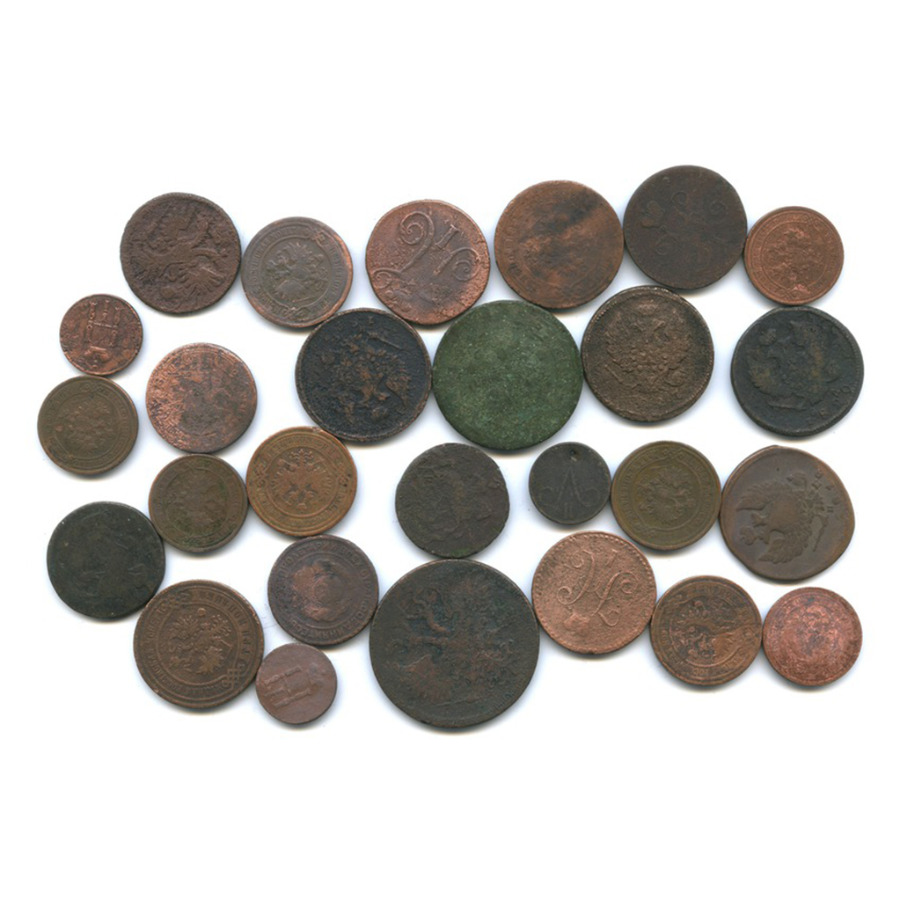 Набор монет Российской Империи (27 шт.) (Российская Империя)