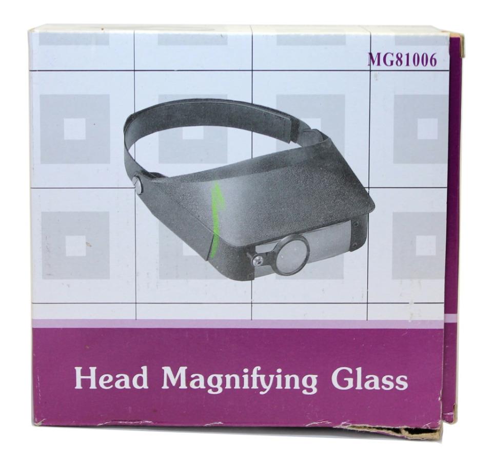 Очки-лупа налобная «Head Magnifying Glass» (1.8х/2.3х/3.7х/4.8х)
