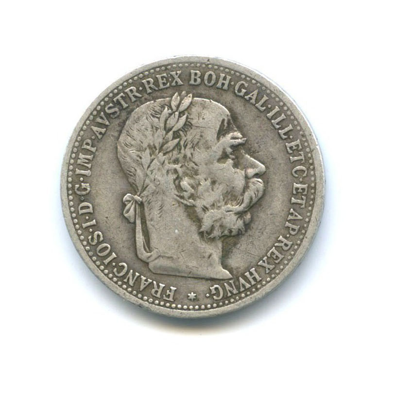 1 крона - Франц Иосиф I 1894 года (Австрия)