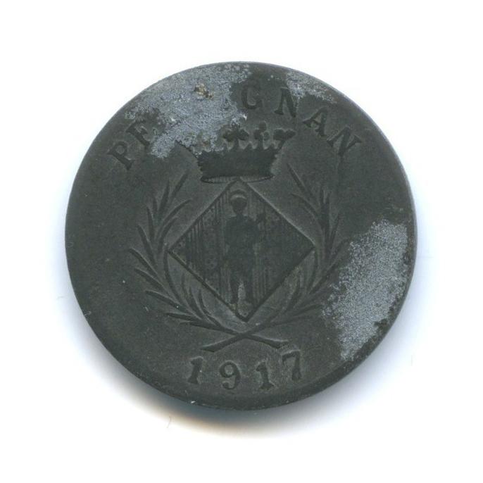 5 сантимов, Перпиньян 1917 года (Франция)