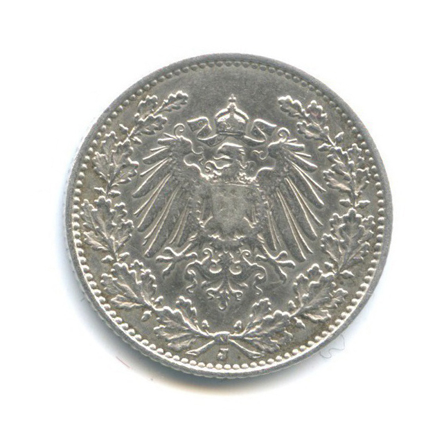 1/2 марки 1914 года J (Германия)