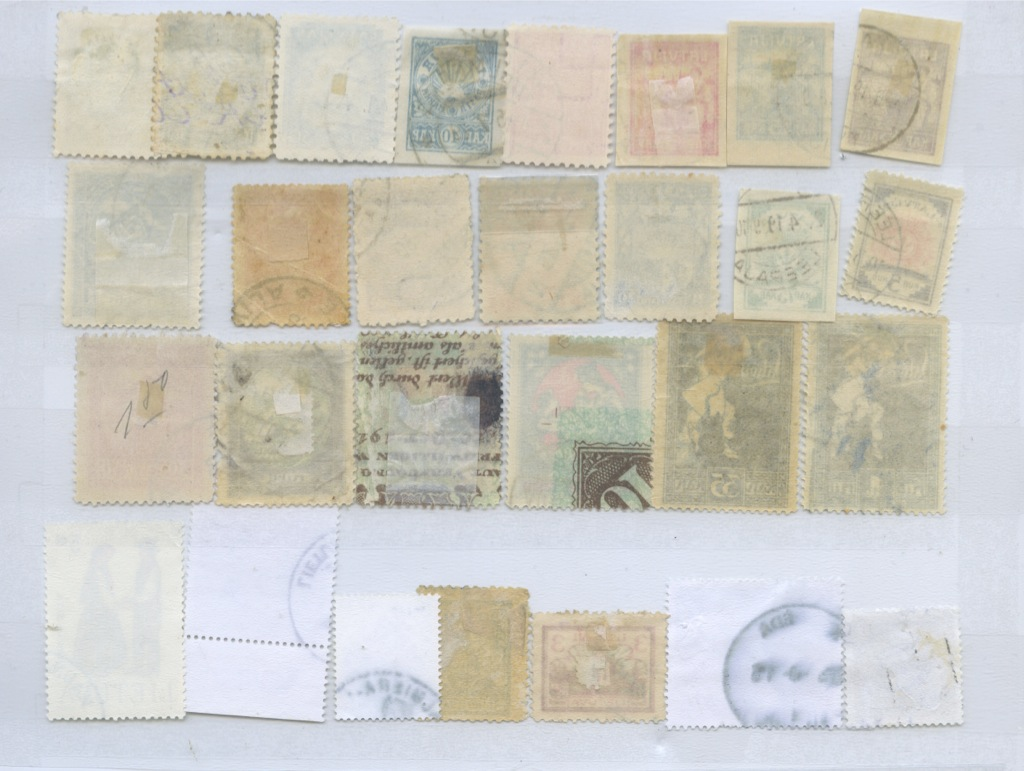 Набор почтовых марок (Литва, Латвия)