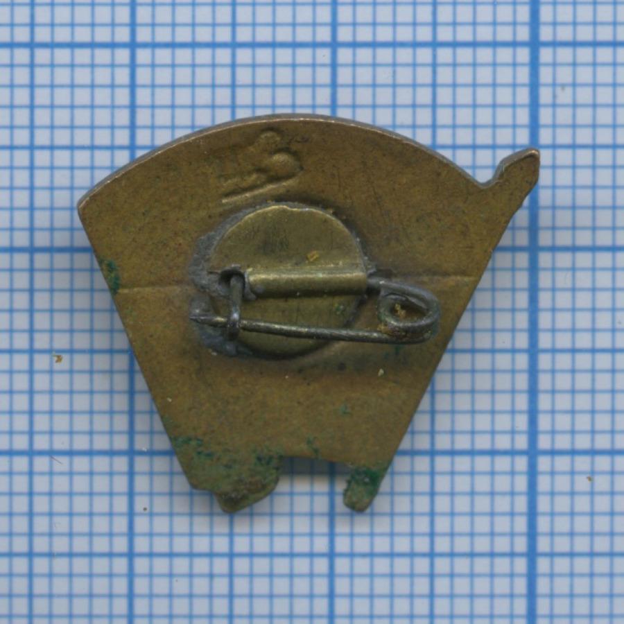Знак «ВЛКСМ» (эмаль, 1940-е гг.) (СССР)