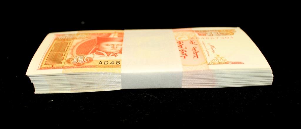 Набор банкнот 5 тугриков 2008 года (Монголия)