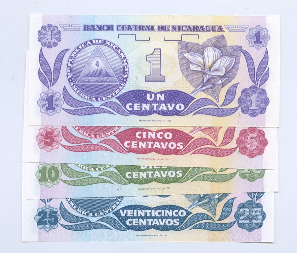 Набор банкнот (Никарагуа)