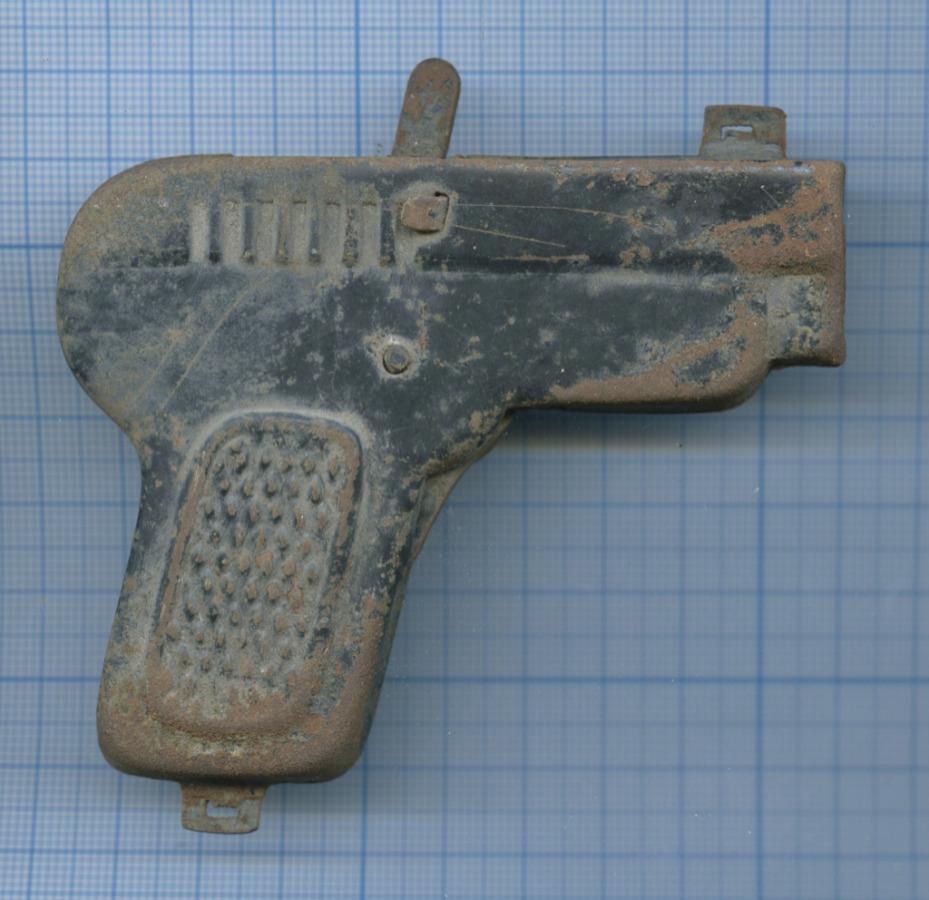 Пистолет игрушечный (клеймо «ОМП г. Горький 1 с»)