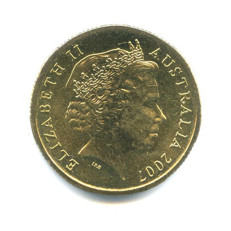 1 доллар — 75 лет мосту Харбор-Бридж 2007 года C (Австралия)