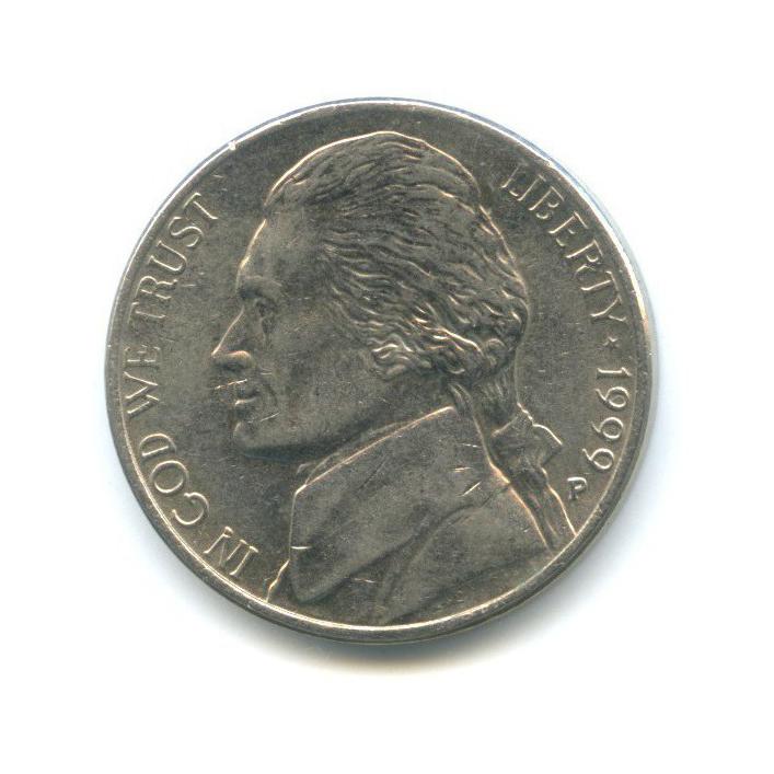 5 центов 1999 года P (США)