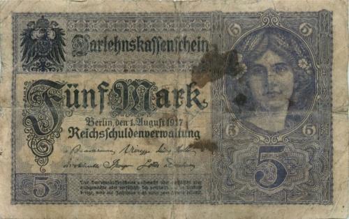 5 марок 1917 года (Германия)