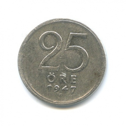 25 эре 1947 года (Швеция)