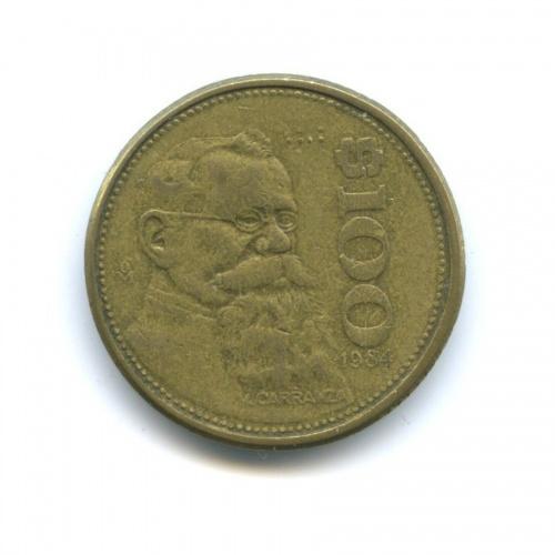 100 песо 1984 года (Мексика)