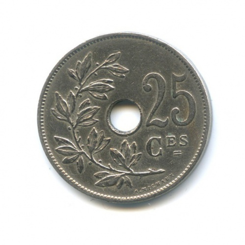 25 сантимов 1928 года (Бельгия)