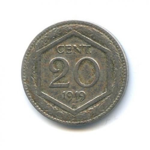 20 чентезимо 1919 года A (Италия)