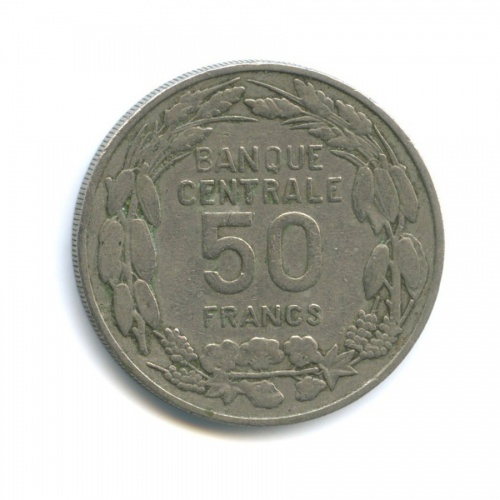 50 франков, Камерун 1960 года