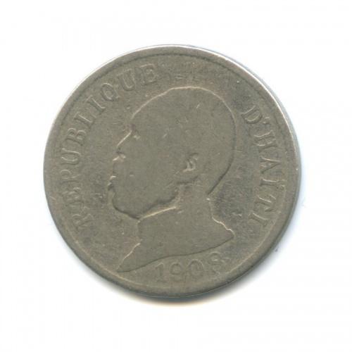 50 сантимов, Гаити 1908 года