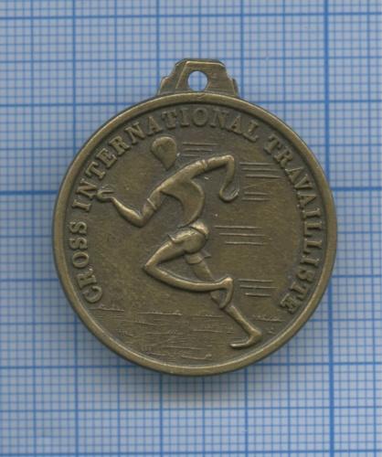 Медаль «Cross International Travailliste» 1985 года