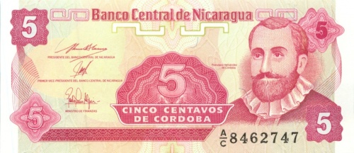 5 сентаво (Никарагуа)