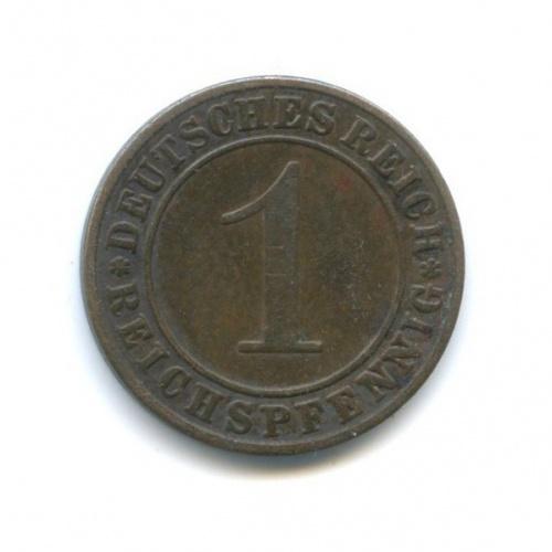 1 рейхспфенниг 1936 года A (Германия)
