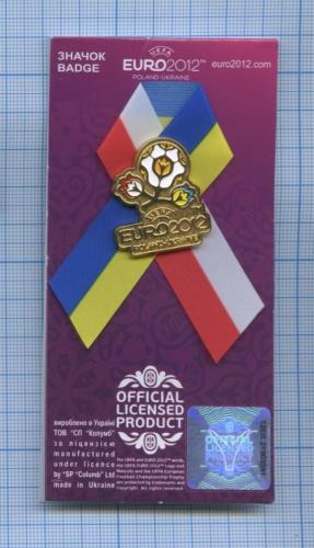 Значок «UEFA EURO 2012» (Украина)