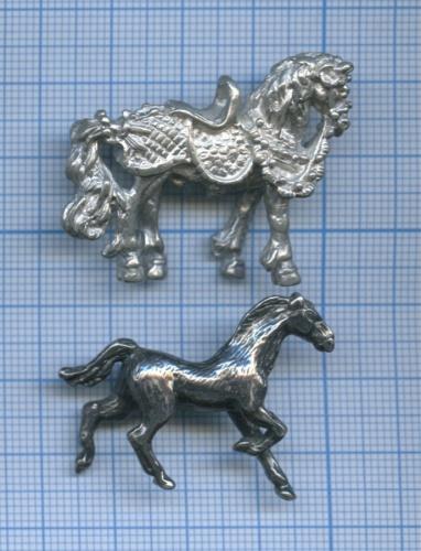 Набор фигурок «Кони», металл