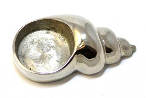 Подсвечник «Ракушка», 9 см (металл)