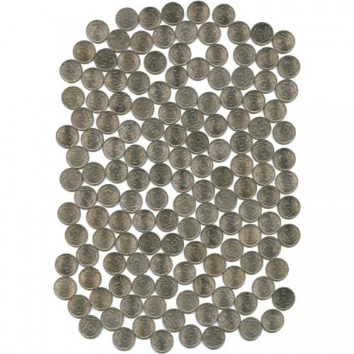 Набор монет 5 копеек (163 шт.) (Россия)