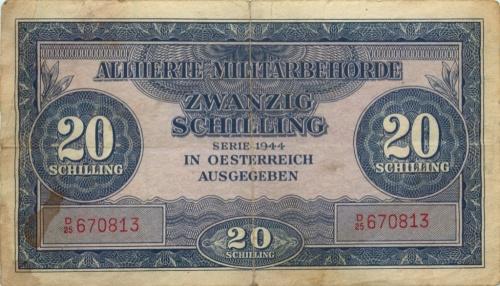 20 шиллингов 1944 года (Австрия)
