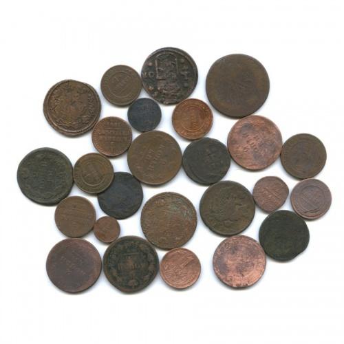 Набор монет Российской Империи (25 шт.) (Российская Империя)