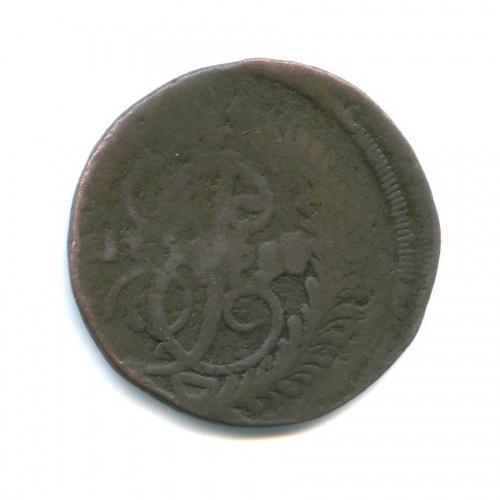 2 копейки (СПМ, перечекан с4-х копеек) 1787 года (Российская Империя)