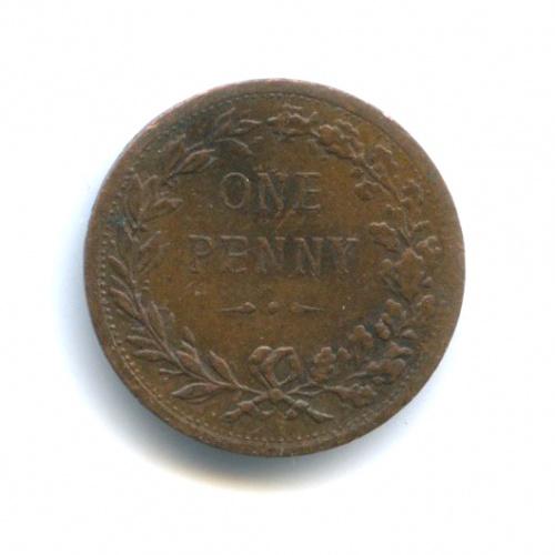 Жетон «One penny» (Великобритания)
