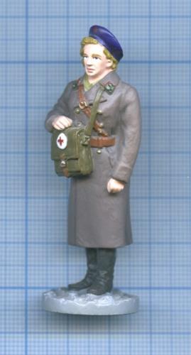 Фигурка «Медсестра медицинской службы РККА 1943-1944 гг.» (Россия)