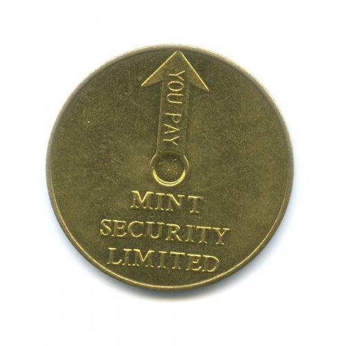 Жетон «Mint security limited»