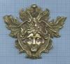 Накладка скреплением (бронза, 560 гр., 12 см)