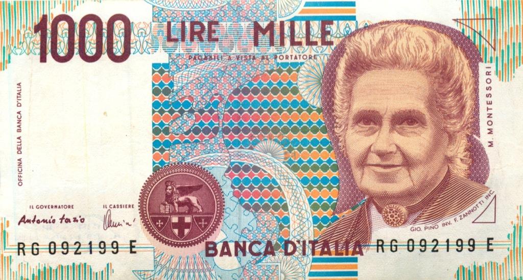 1000 лир 1990 года (Италия)