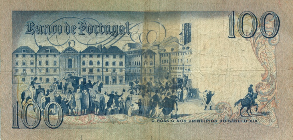 100 эскудо 1981 года (Португалия)
