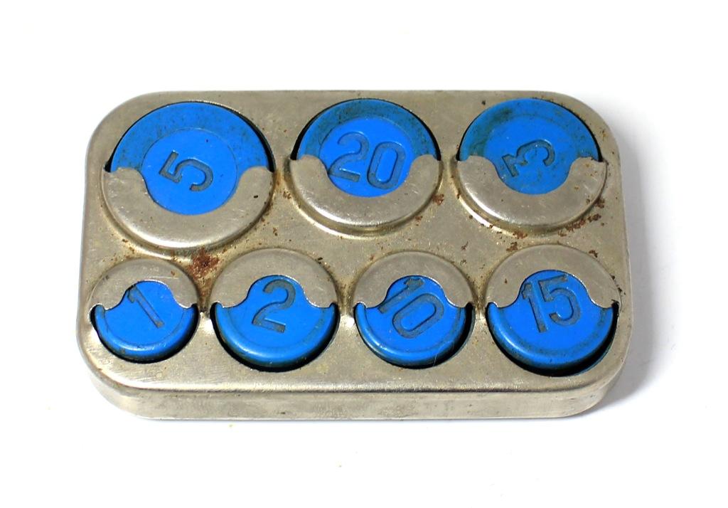 Монетница «Выборг», 8,5 см (СССР)