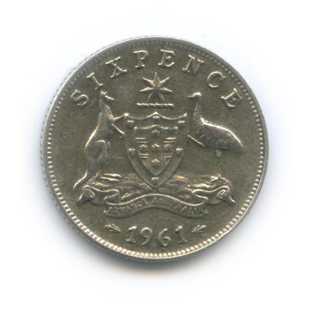 6 пенсов 1961 года (Австралия)