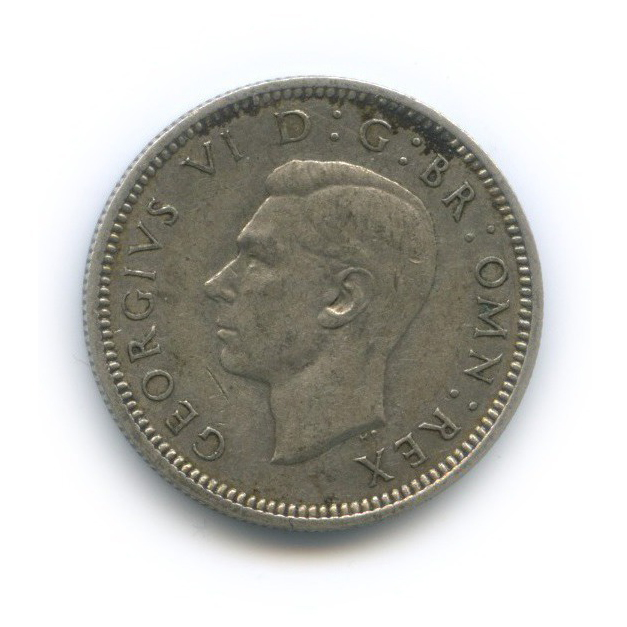 6 пенсов 1941 года (Великобритания)