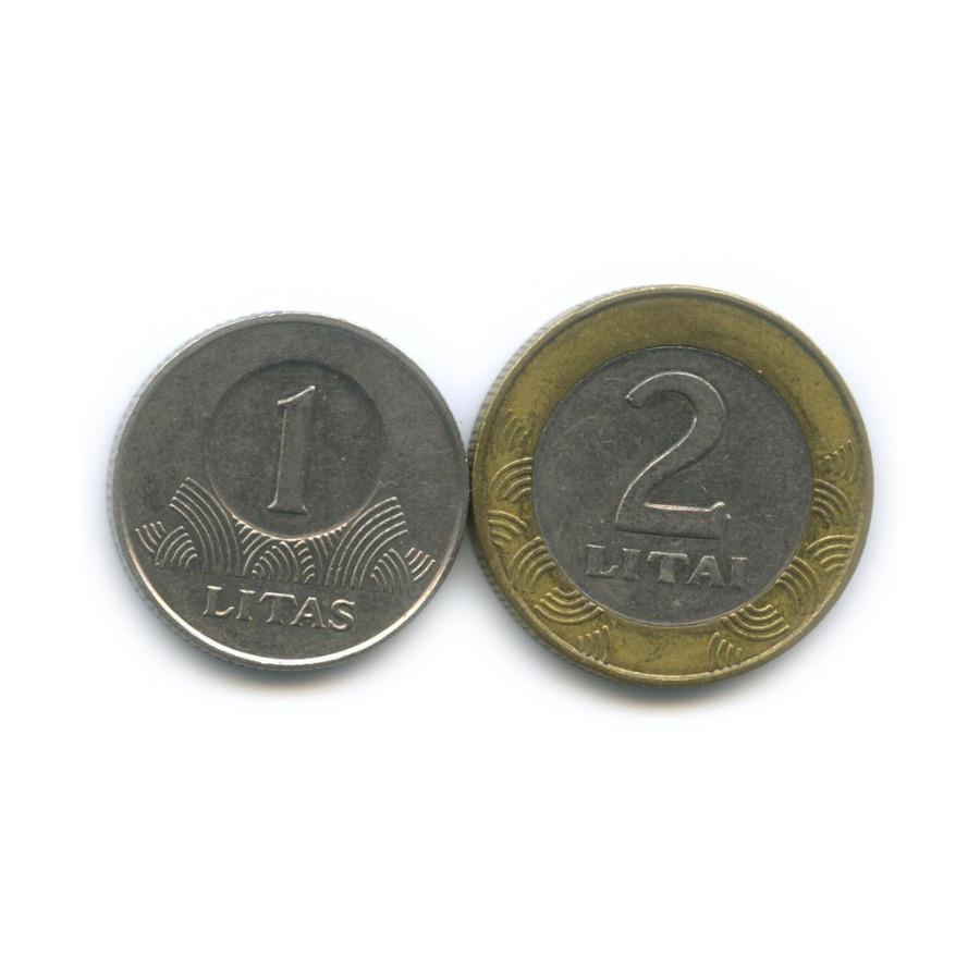 Набор монет 1998, 2002 (Литва)