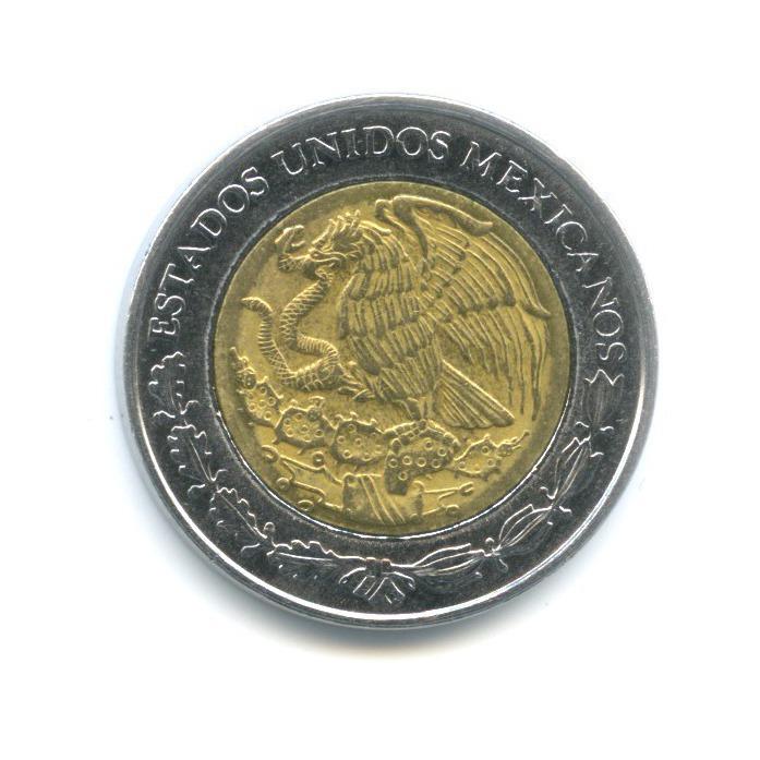 1 песо 2007 года (Мексика)
