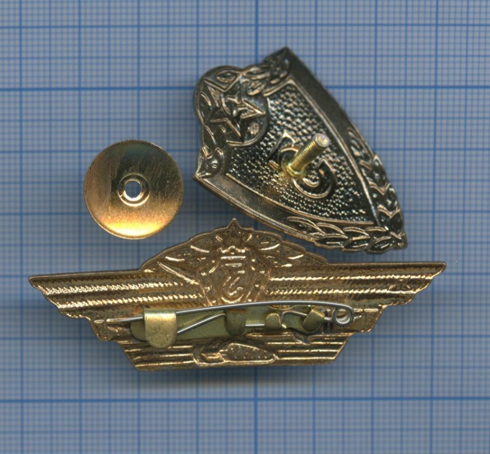 Набор нагрудных знаков «Классность танкиста», «Классность» (3-й класс) (СССР)