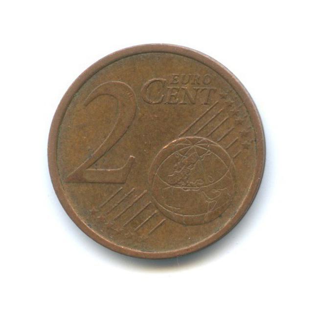 2 цента 2002 года D (Германия)