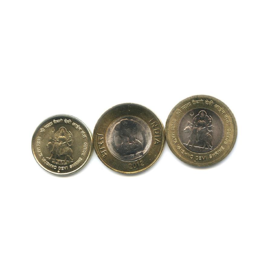 Набор монет 2012 года (Индия)